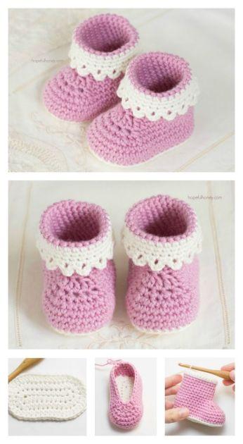 booties pink