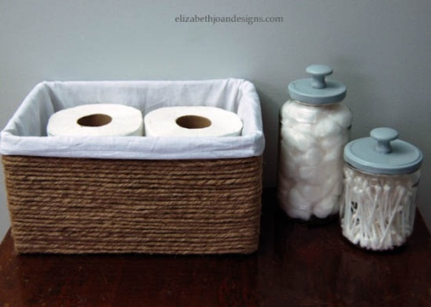Jute Basket DIY