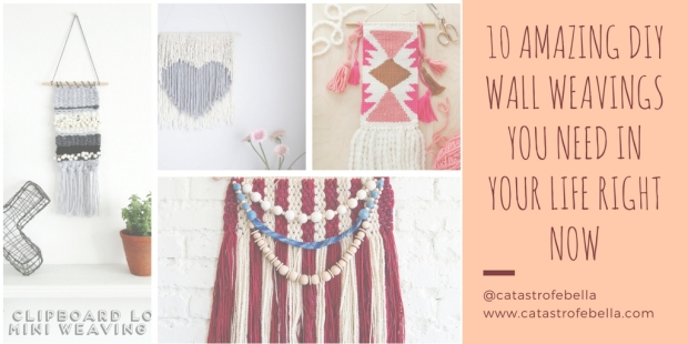 10 Amazing DIY Wall Weavings You Need in Your Life Right Now