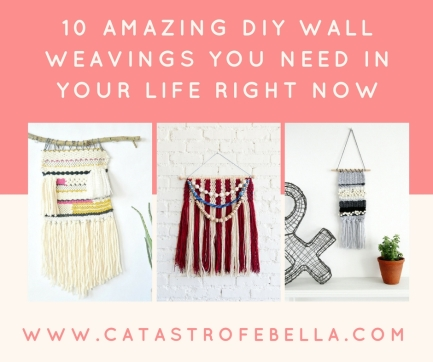 10 Amazing DIY Wall Weavings You Need in Your Life Right Now(1)