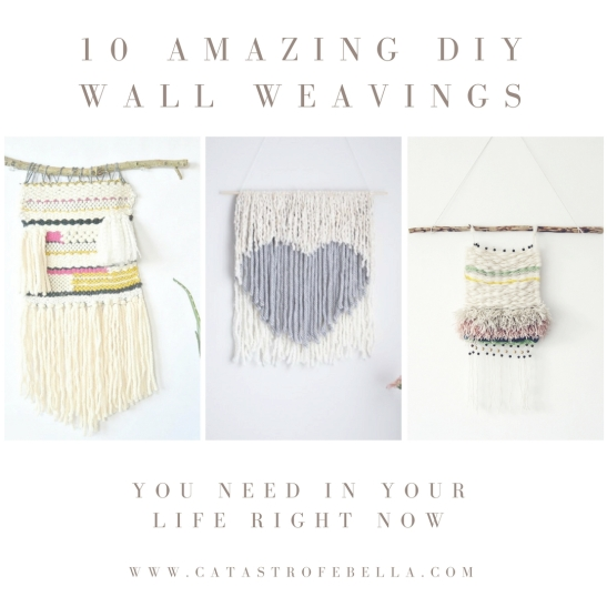 10 Amazing DIY Wall Weavings