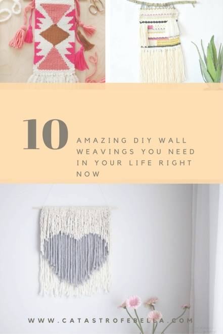 Amazing DIY Wall Weavings You Need in Your Life Right Now