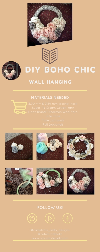 diy boho chic wall hanging