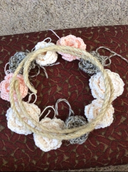 crochet flower boho chic
