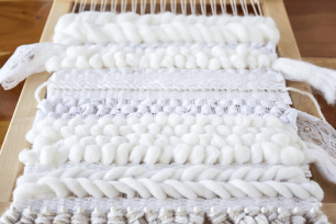 neutral and lace weaving