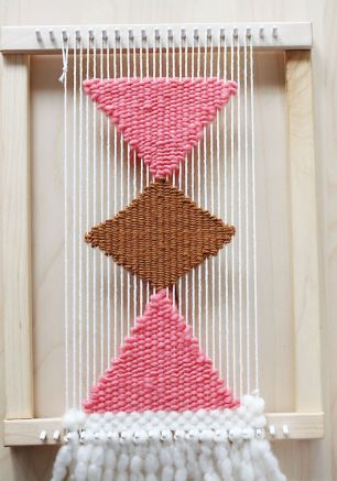 Triangle Wall Weaving diy